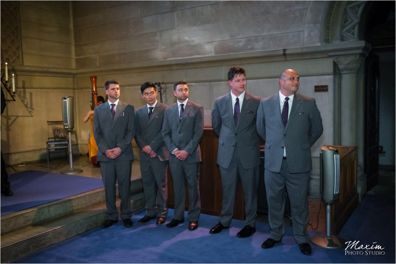 Norman Chapel, Cincinnati Wedding Groomsmen