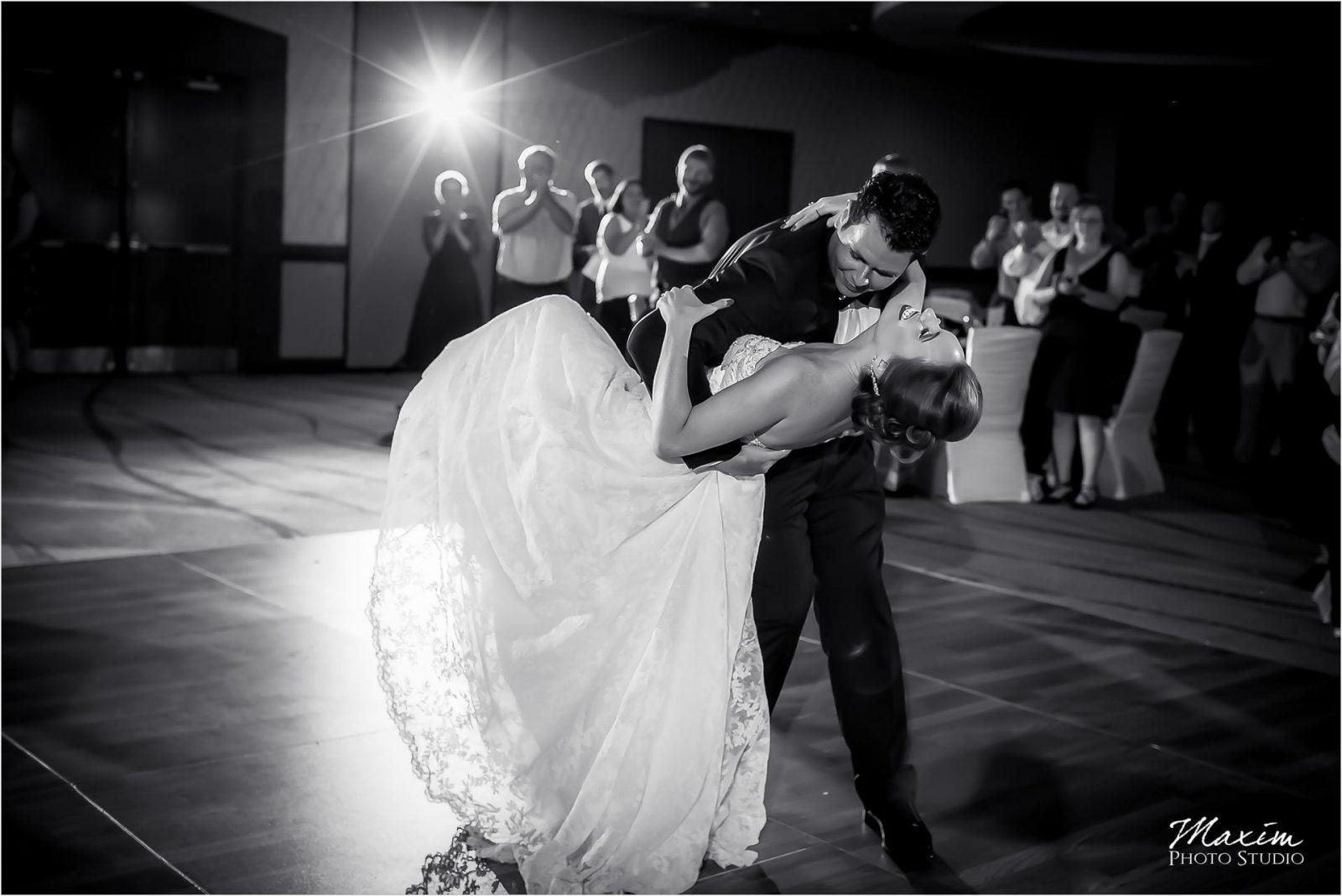 Marriott Rivercenter Covington, Best Cincinnati Wedding, First Dance