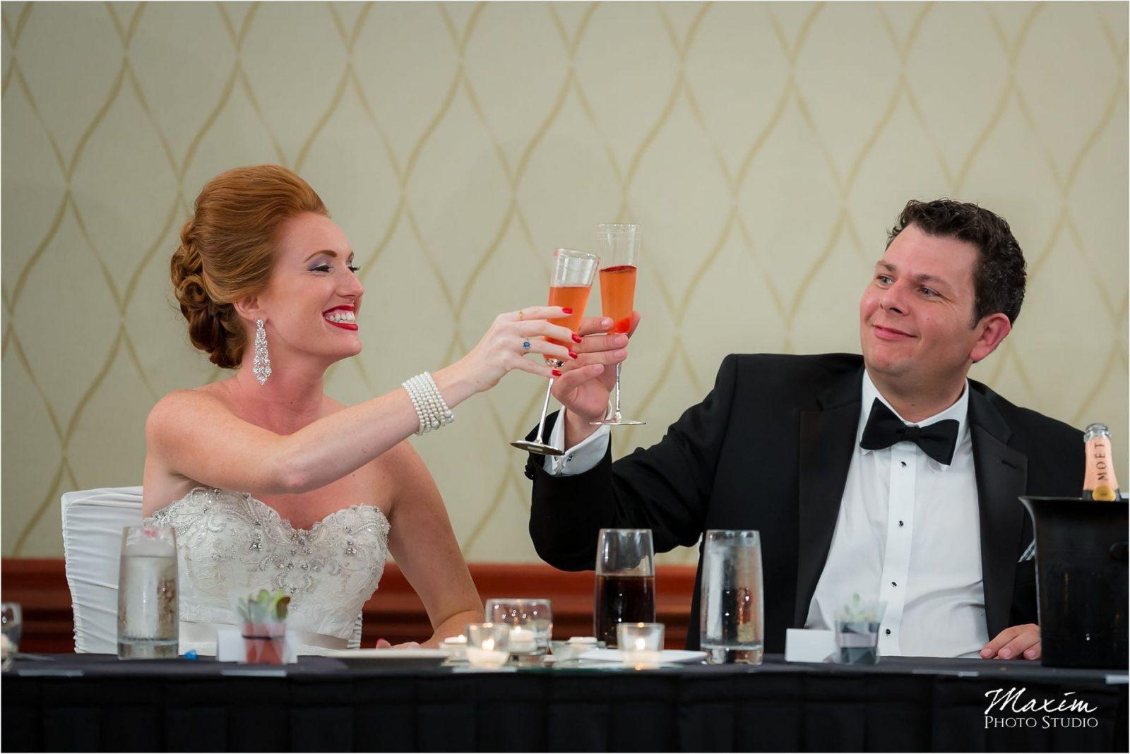 Marriott Rivercenter Covington, Best Cincinnati Wedding, Wedding Toasts