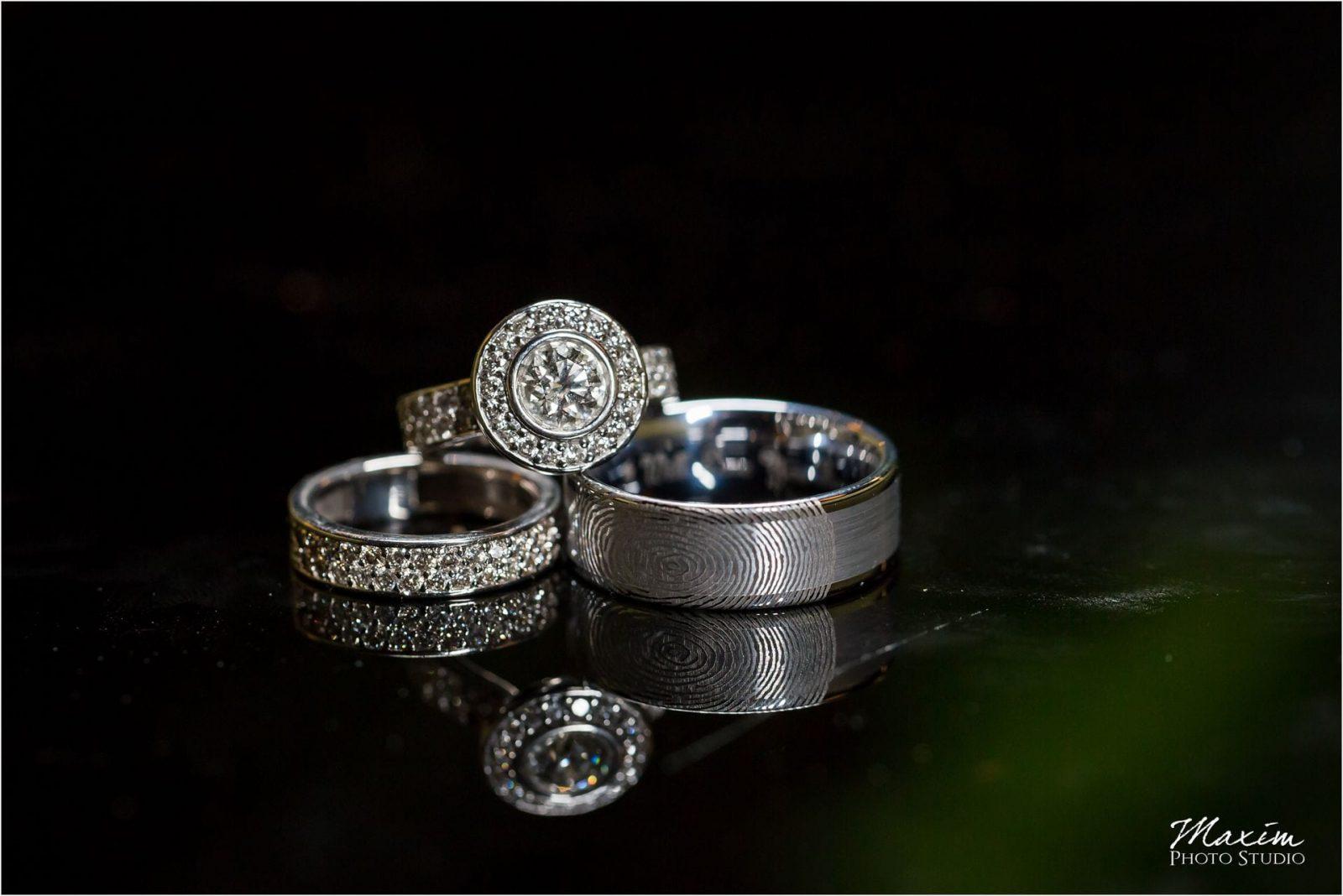 Marriott Rivercenter Covington, Best Cincinnati Wedding, Wedding rings
