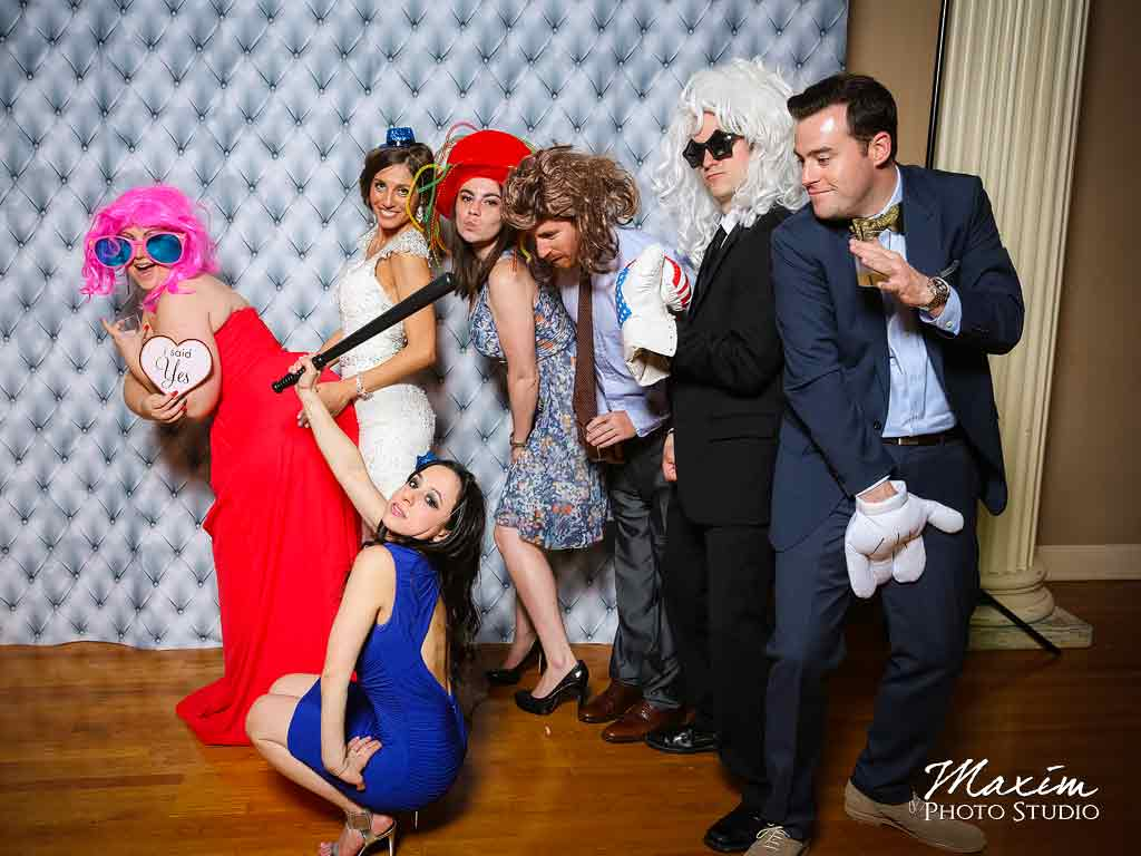 Cincinnati music hall fun wedding photo booth aj 05