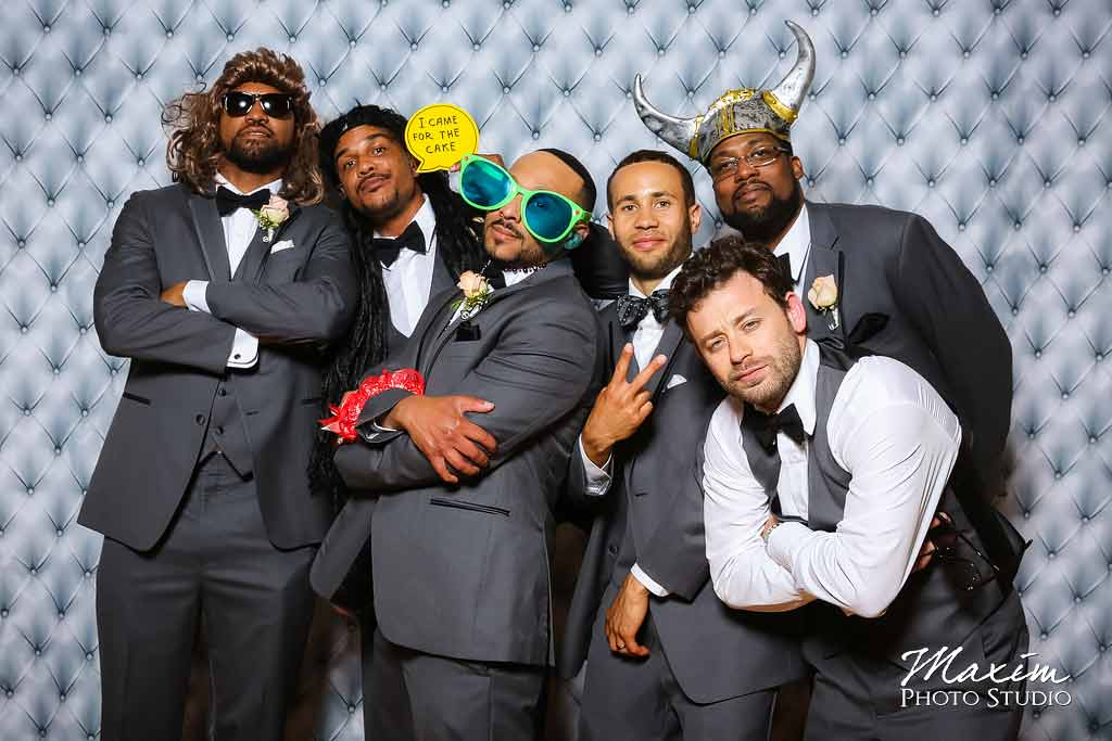 Music hall Cincinnati wedding photo booth aj 11