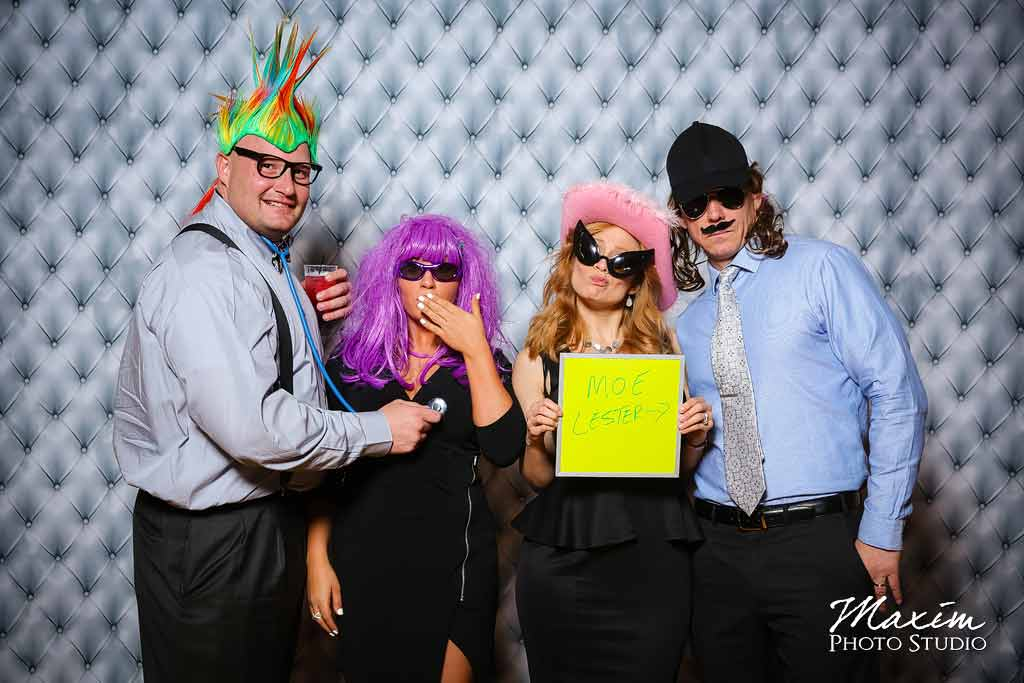 Cincinnati music hall wedding photo booth aj 17