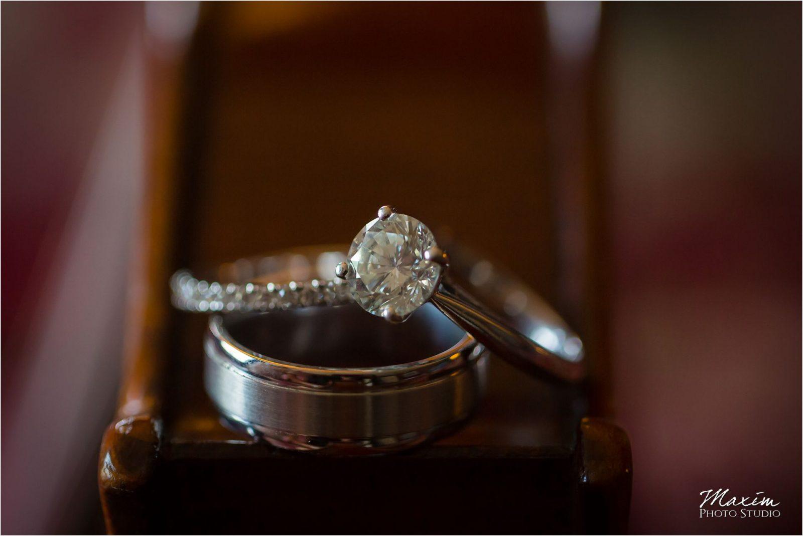 Kentucky Wedding Photographers Potato Hill Farm Wedding rings