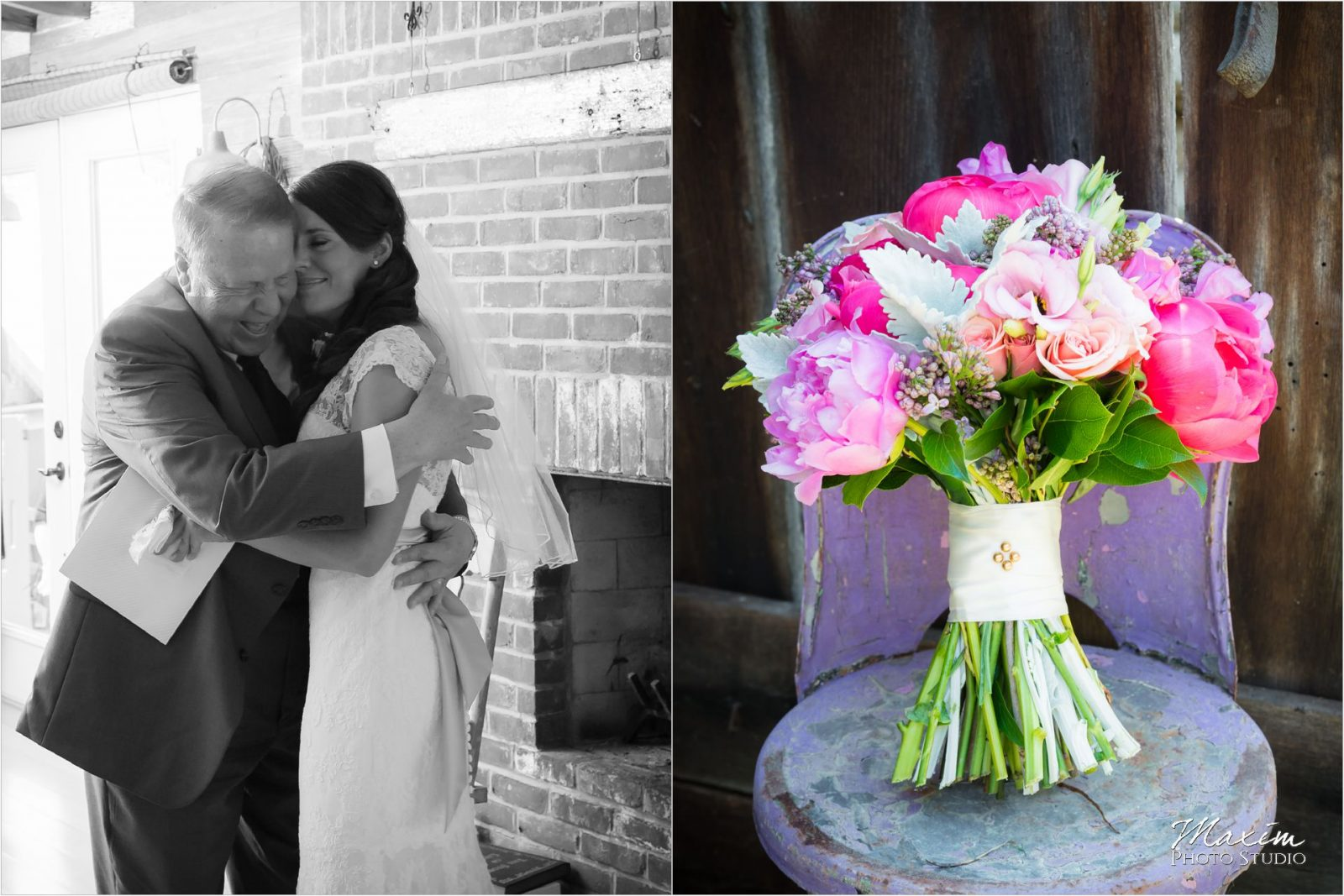 Posey Floral Design Kentucky Wedding Photographers Potato Farm Wedding bride preparations