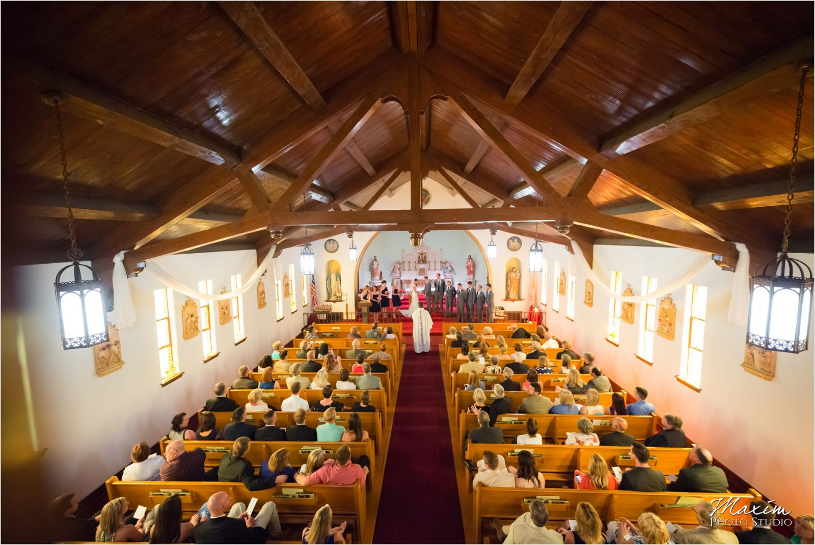 St James Church Dover KY wedding ceremony