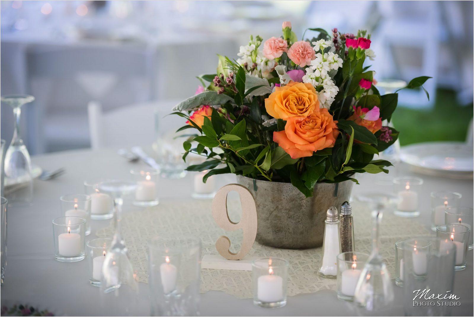 Posey Floral Design Wedding Flowers Potato Hill Farm Wedding