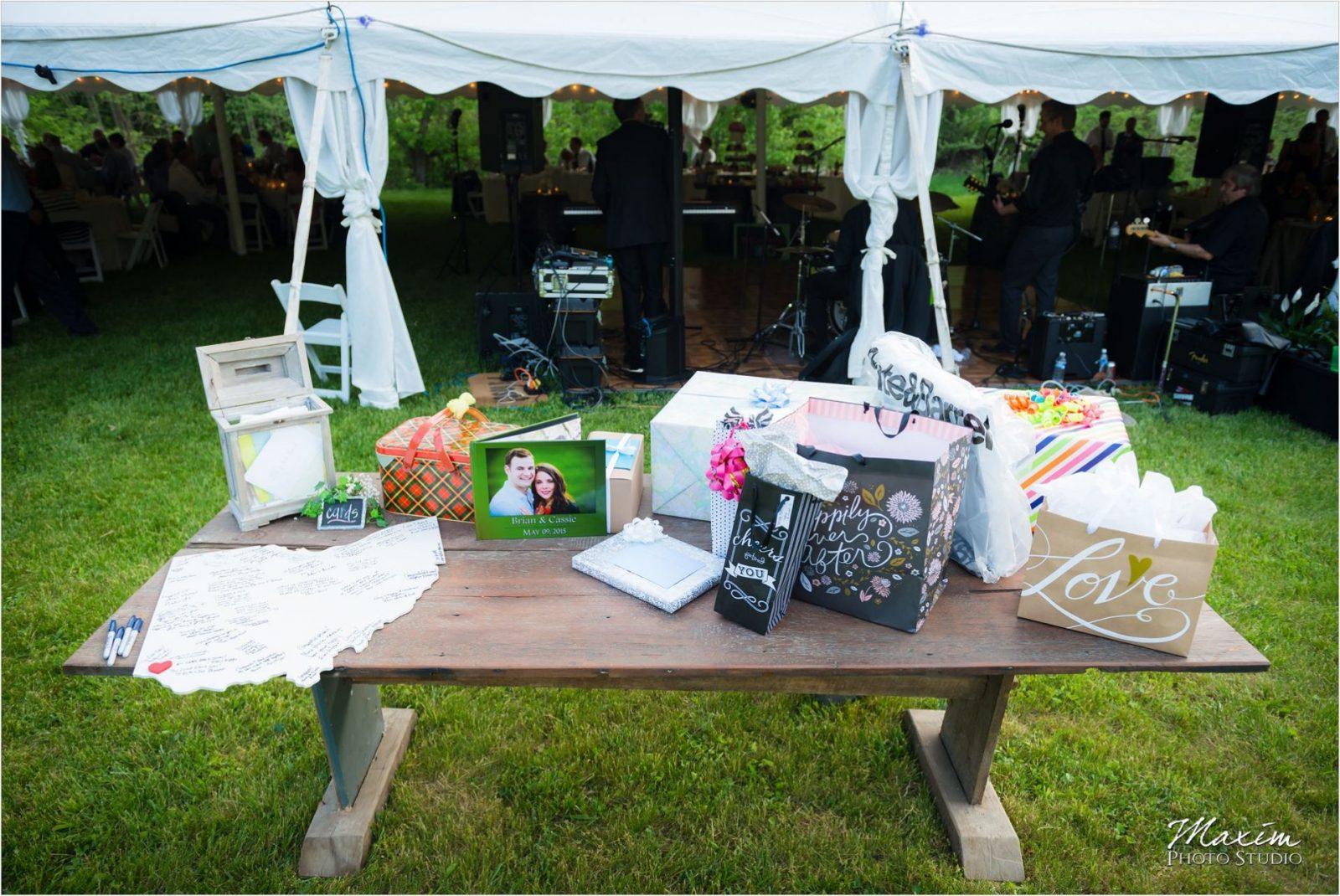 Potato Hill Farm Wedding Reception