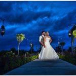 Cedar Springs Pavilion night wedding