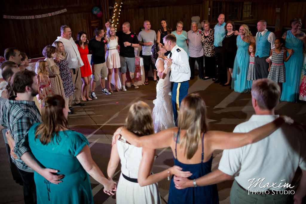 Dayton-Ohio Willow Tree Wedding Reception