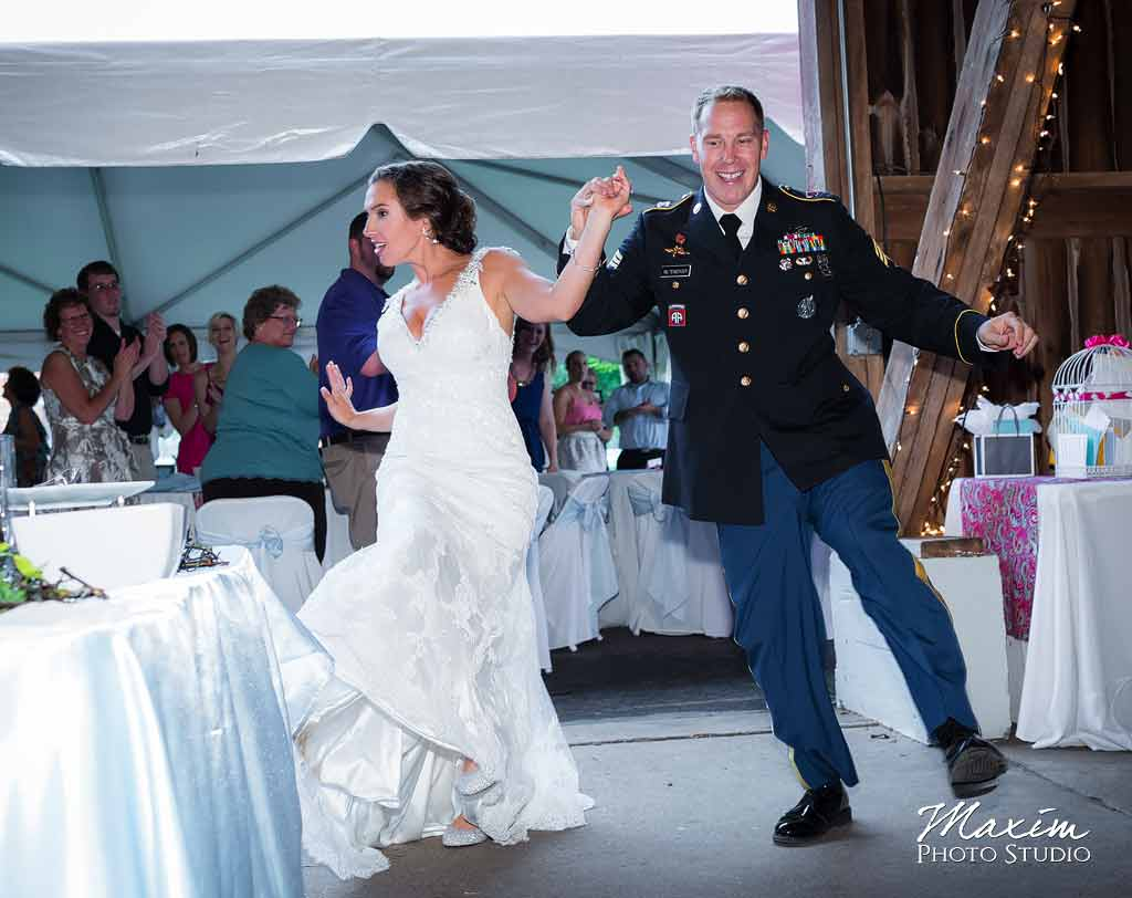 Fun Dayton Wedding Photographer
