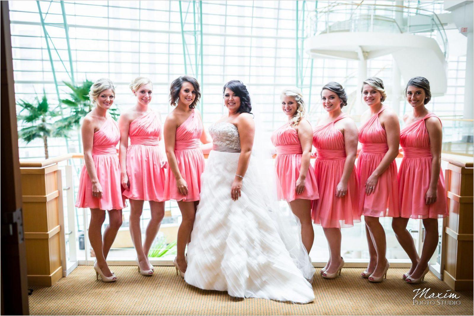 Schuster Center Dayton Ohio Wedding Bride Preparations