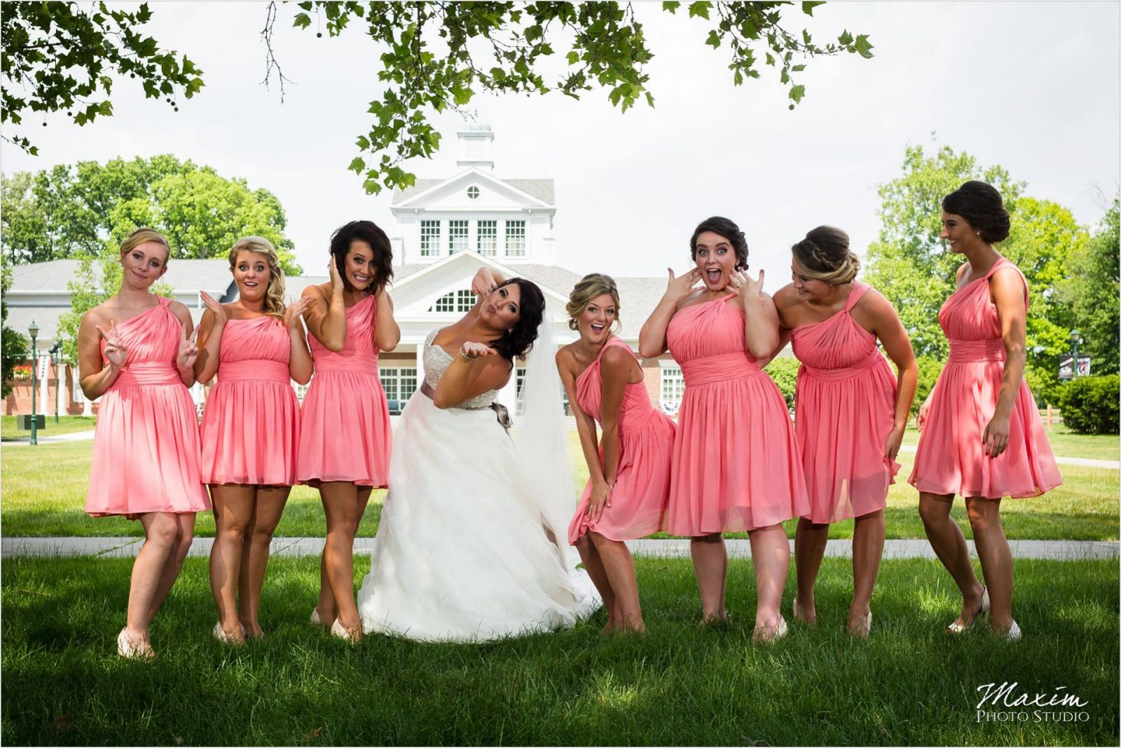 Schuster Center Carillon Park Wedding pictures