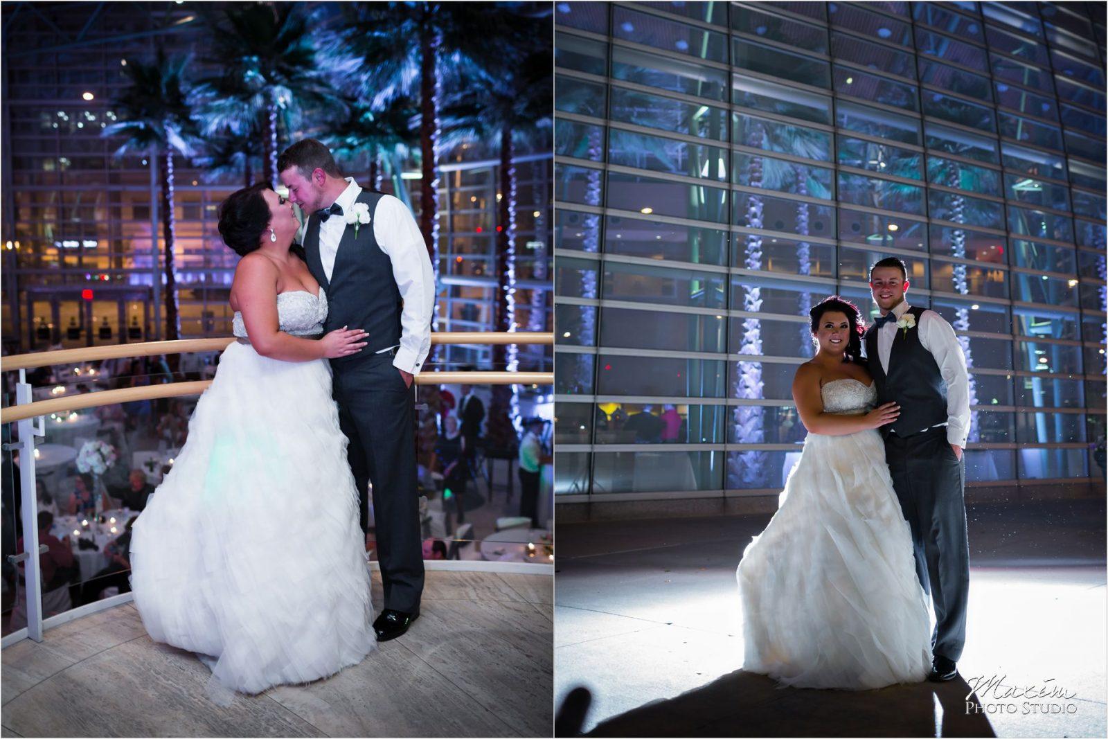Schuster Center Dayton Ohio Wedding Maxim Photo Studio