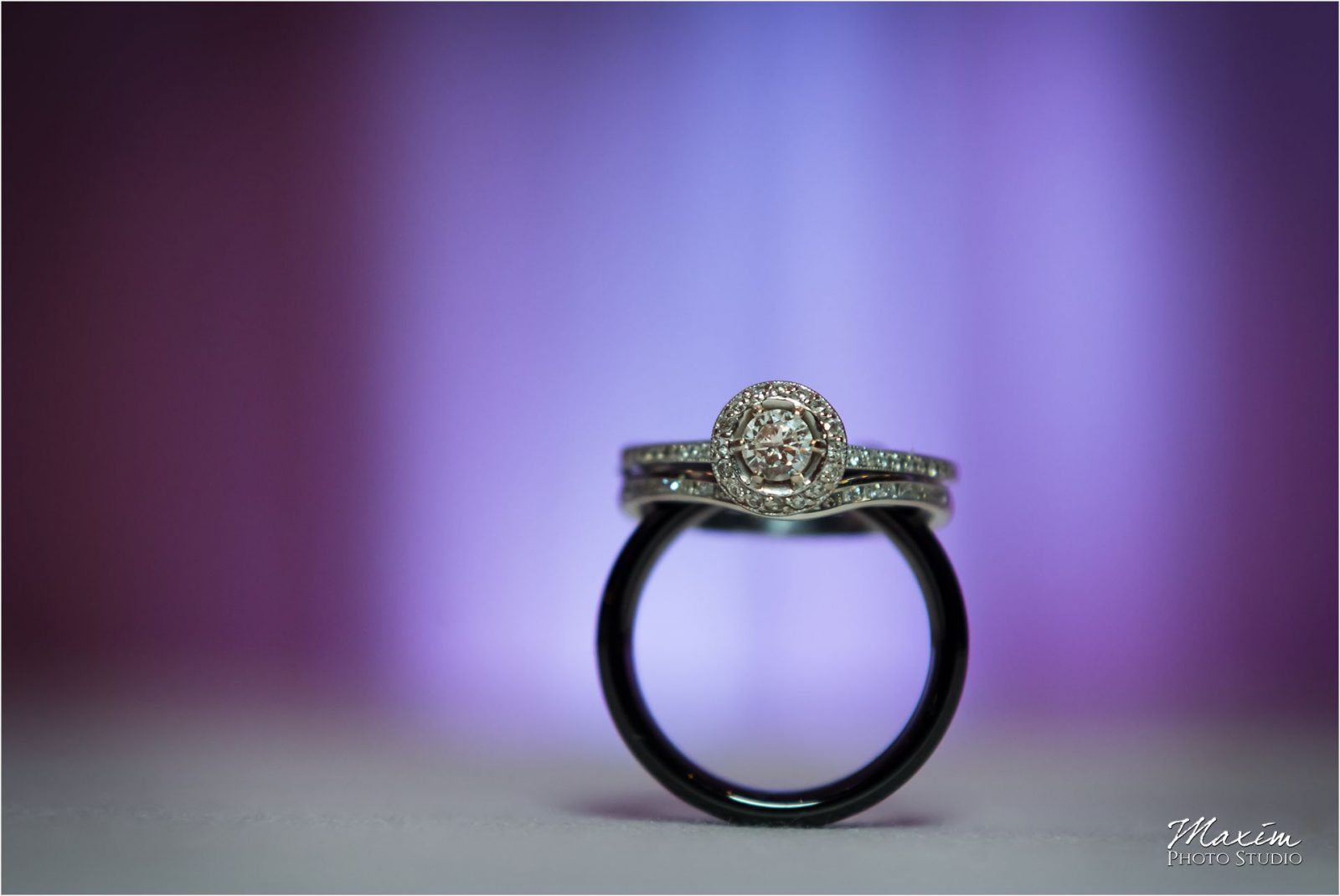 Group Photo Schuster Center Wedding ring Dayton ohio Wedding Photography