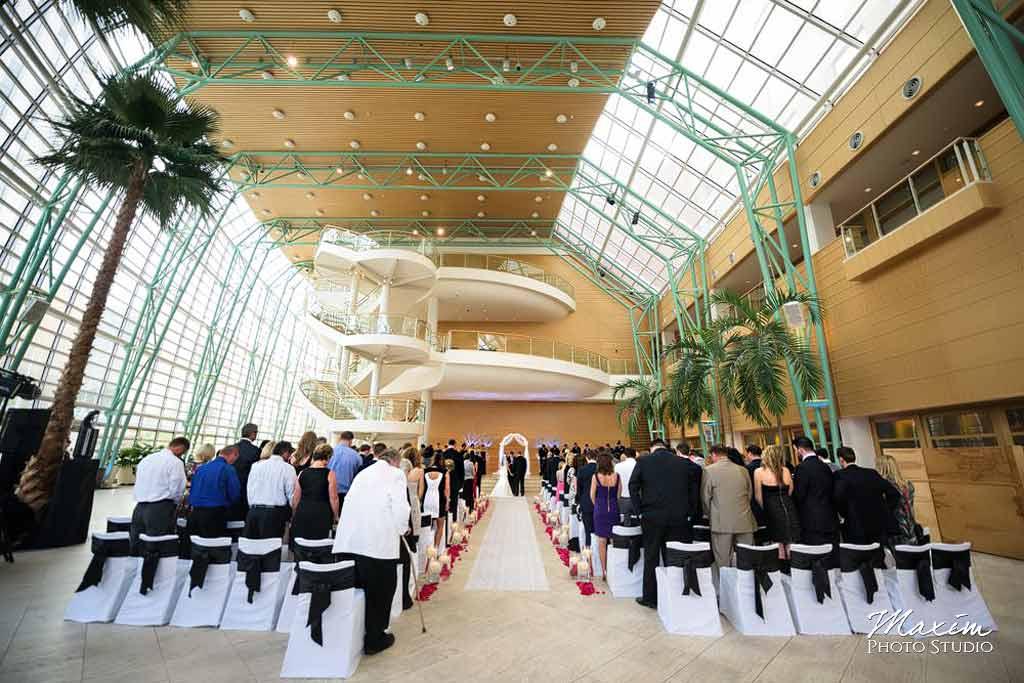 Schuster Center Wedding