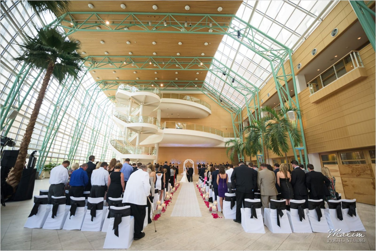 Schuster Center Dayton Ohio Wedding Ceremony