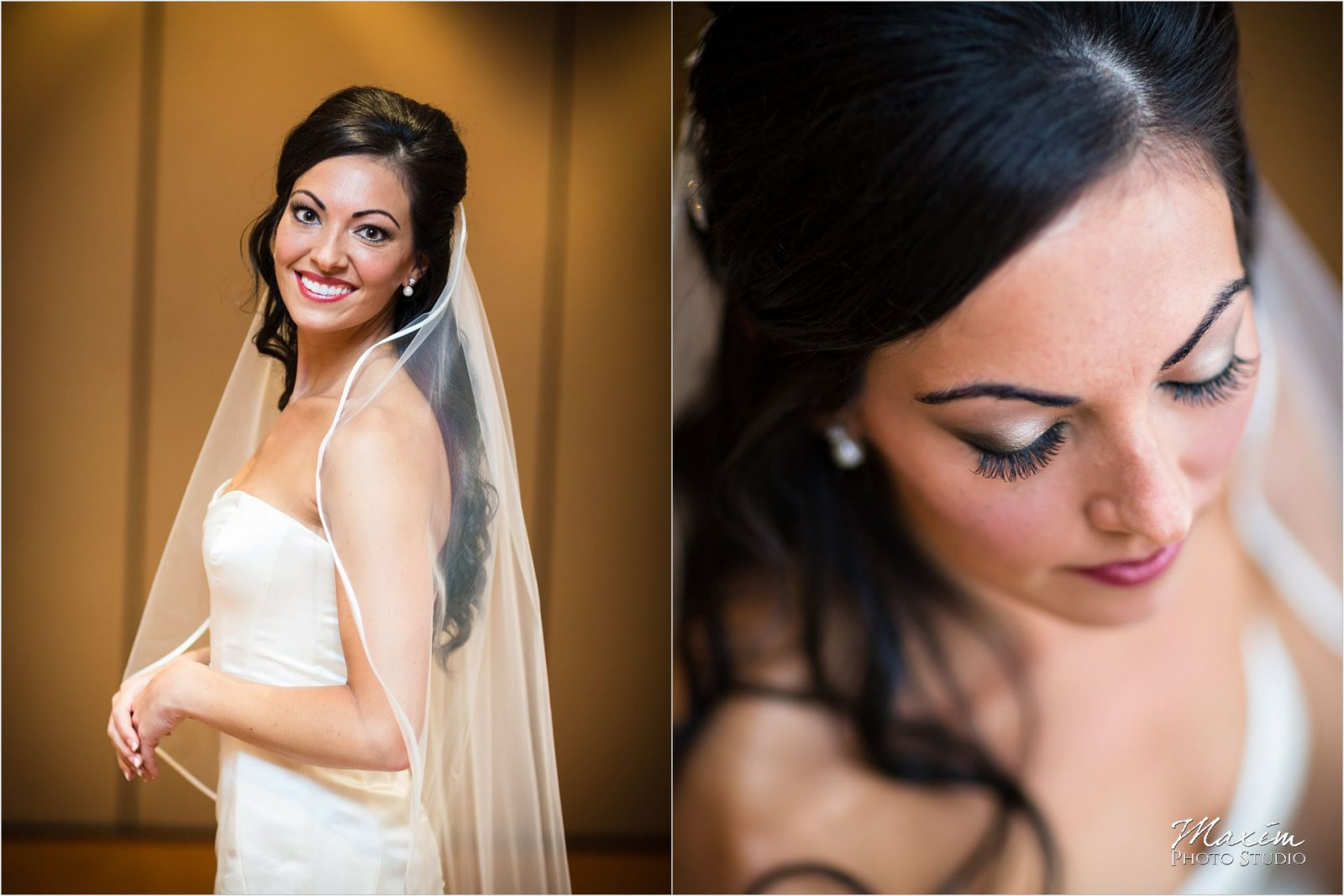 Schuster Center Dayton Ohio Wedding Bride preparations