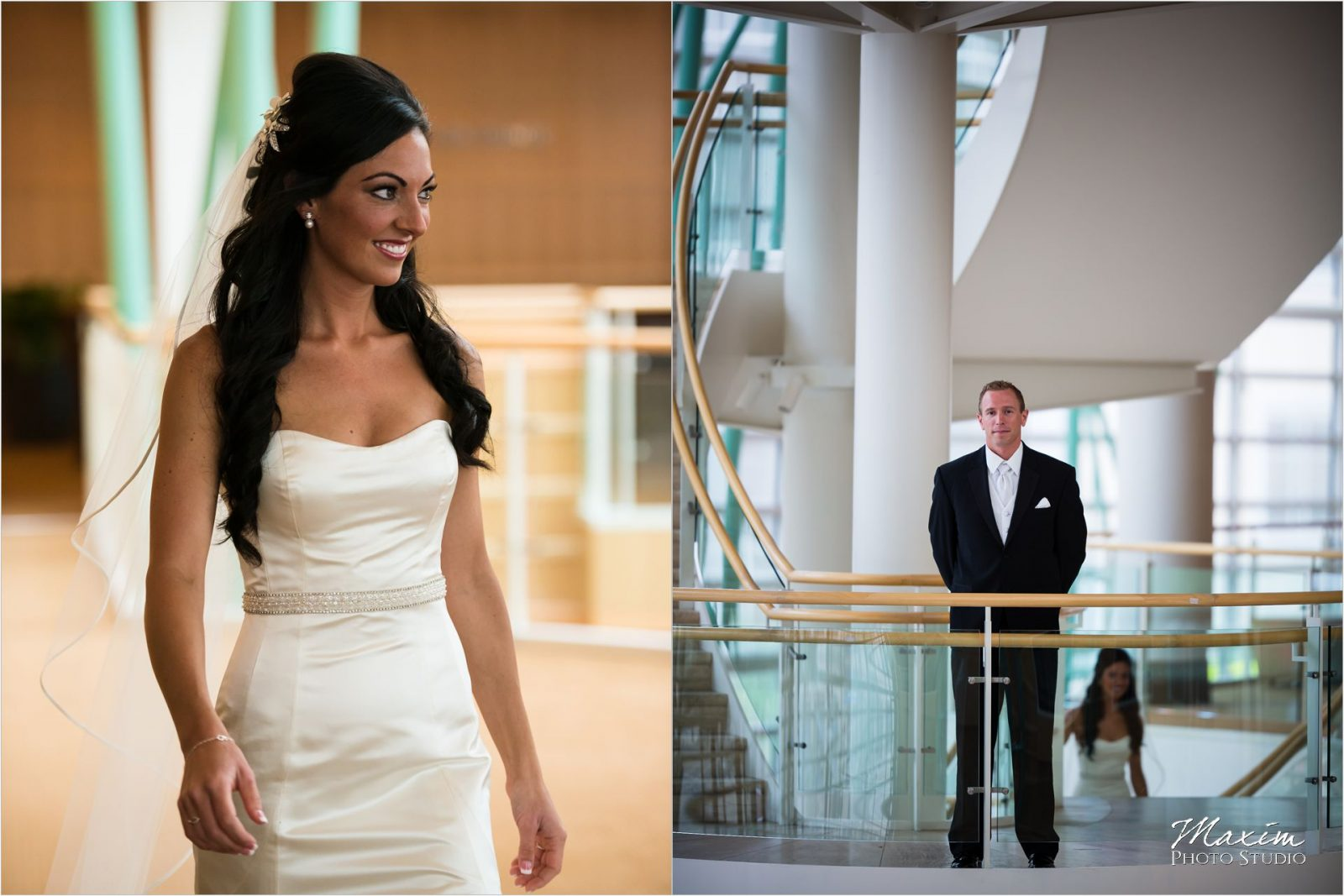 Schuster Center Bride portraits Dayton Ohio