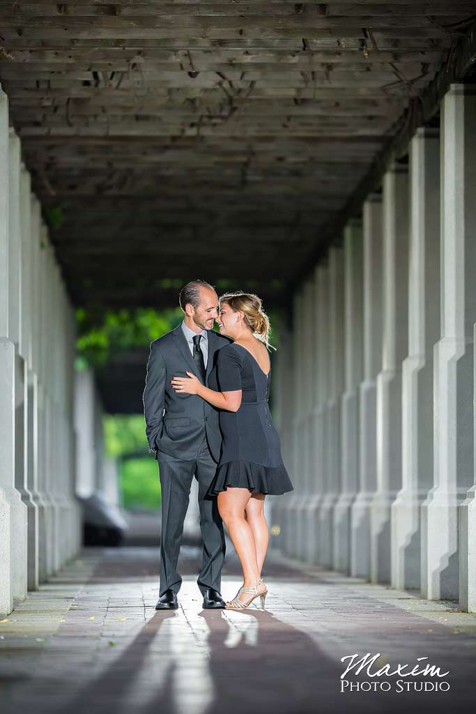 Dayton Wedding Photographer Downtown Cincinnati Engagement