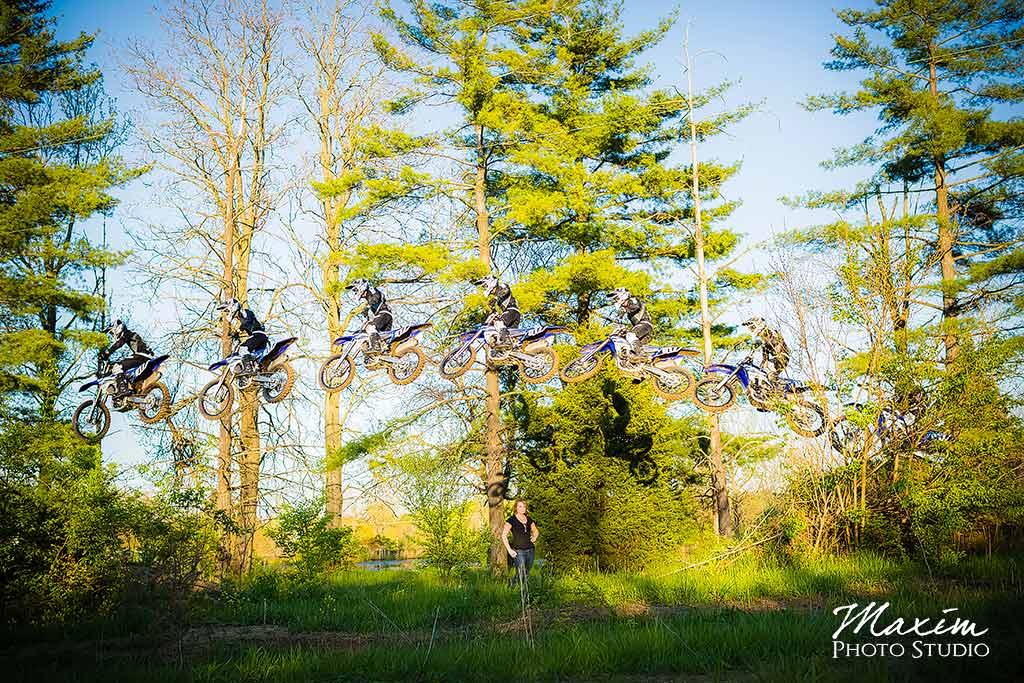 Cox Arboretum Engagement Photography