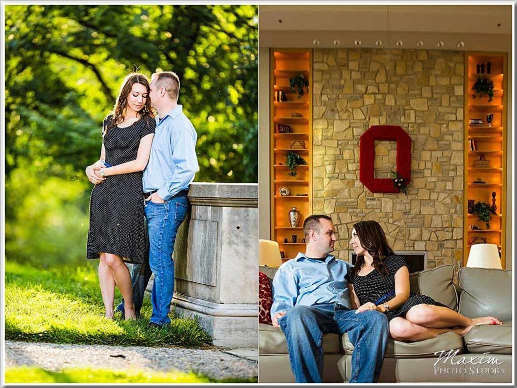 OSU Student Union engagement photography