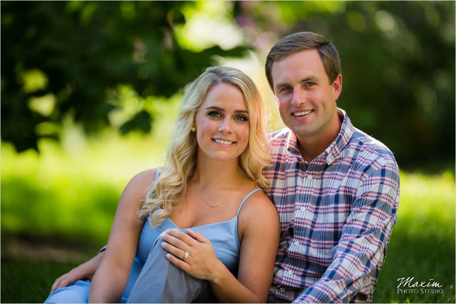 Fun Cincinnati Engagement Ault Park