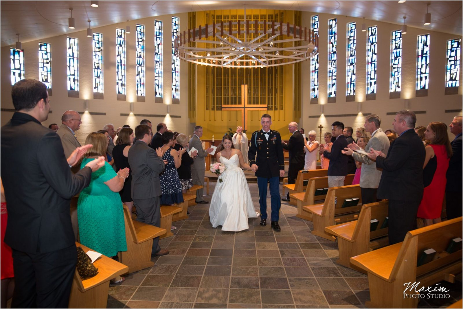 Cincinnati Wedding Photographers Bellarmine Chapel wedding ceremony