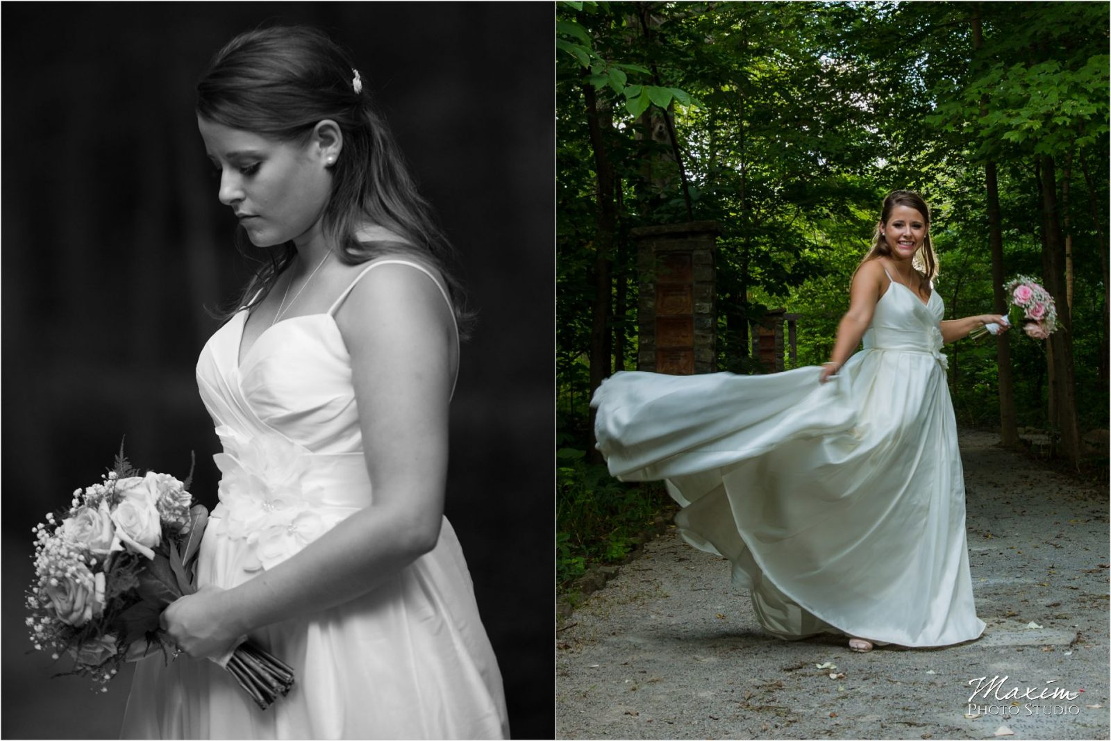 Cincinnati Wedding Photographers Krippendorf Lodge Cincinnati Nature Center bride groom