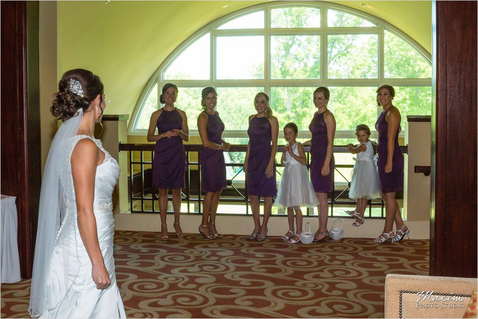 Country Club of the North Wedding bridesmaids reveal