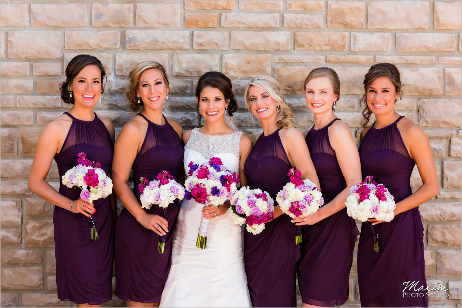 Country Club of the North Wedding Bridesmaids
