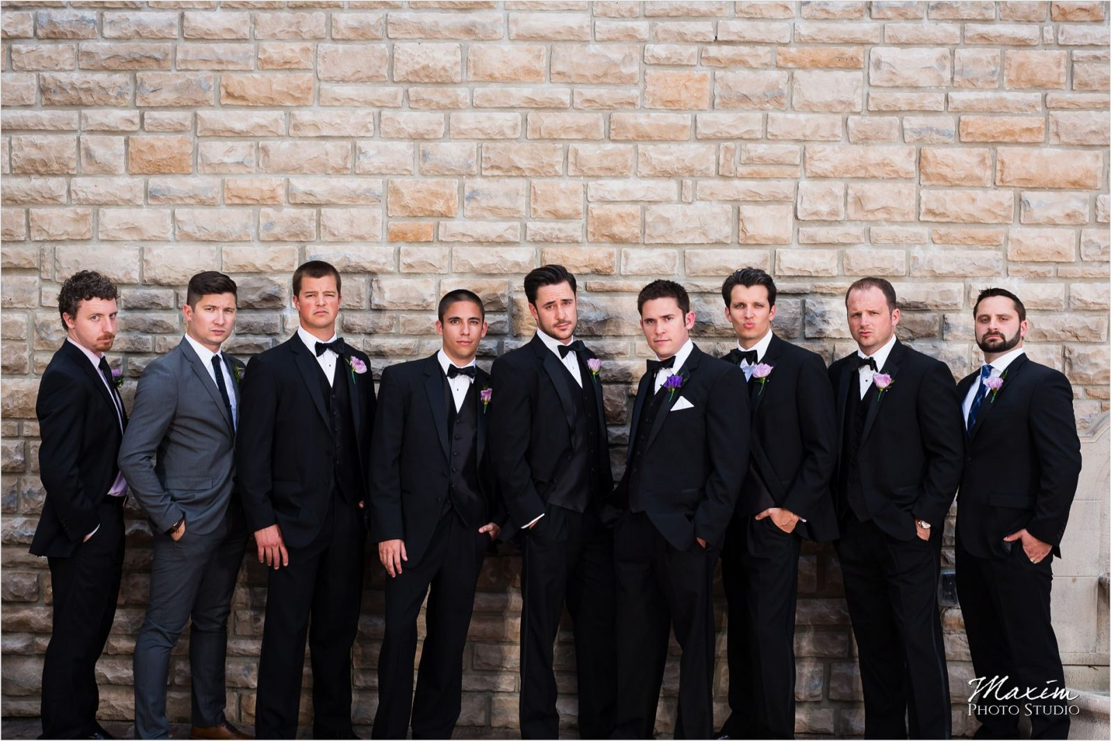 Country Club of the North Wedding Groomsmen