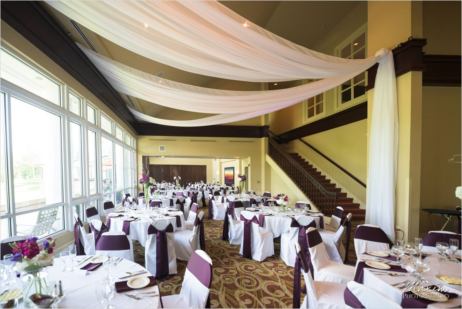 Country Club of the North Wedding Reception Decor
