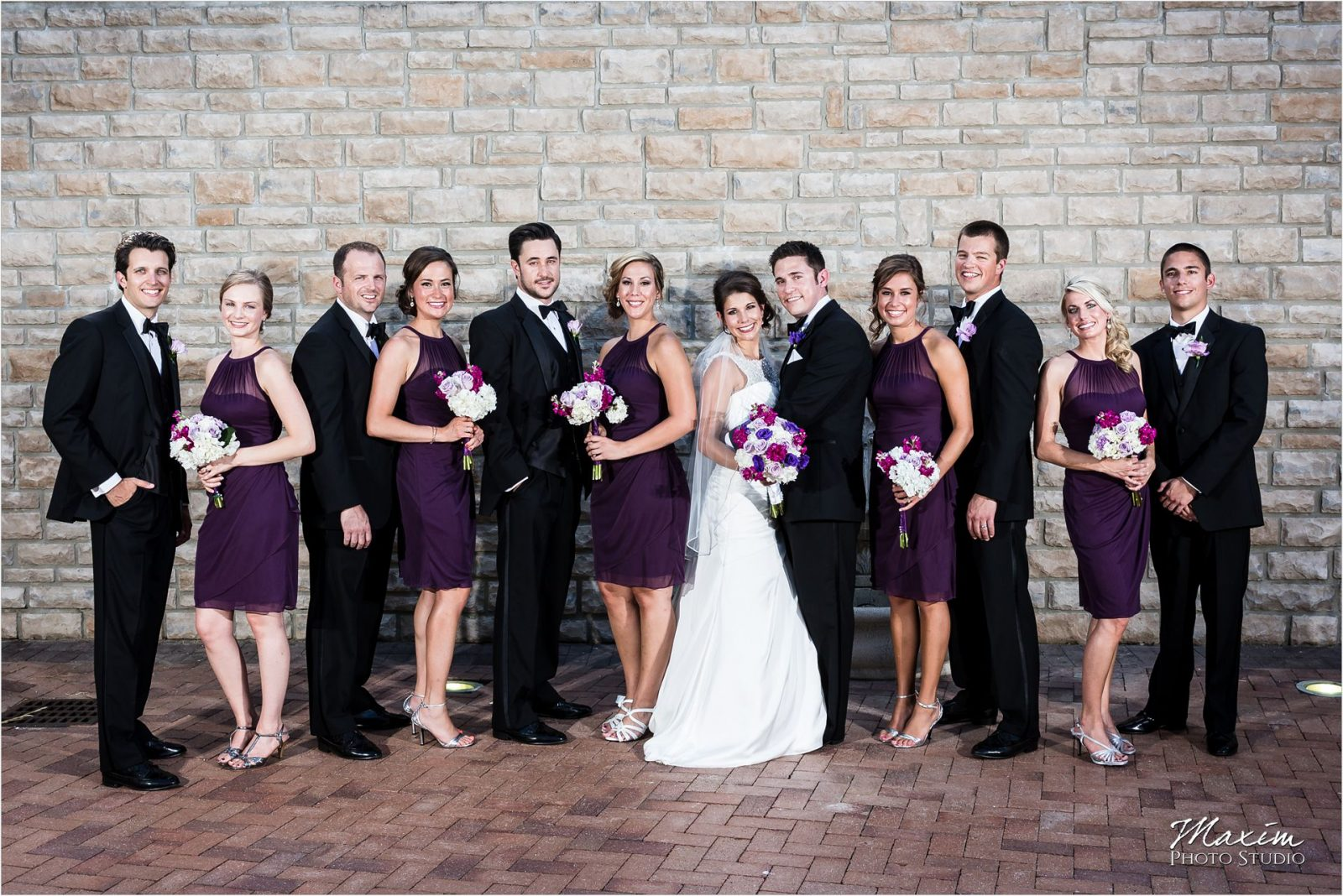 Country Club of the North Wedding Bridal Party