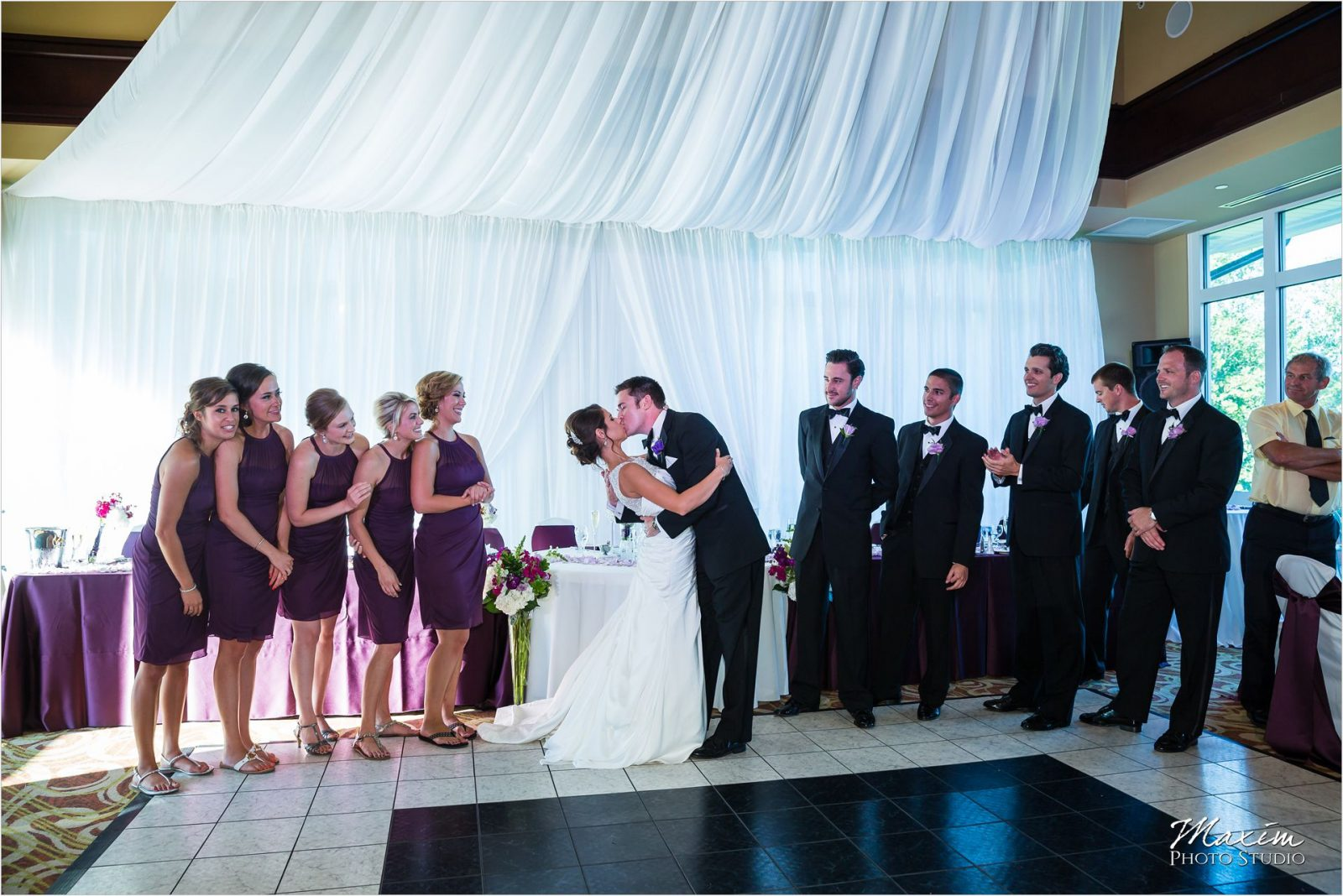 Country Club of the North Wedding Reception Bridal Party