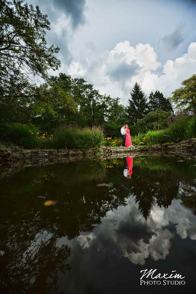 Smith Gardens Dayton Engagement Photography