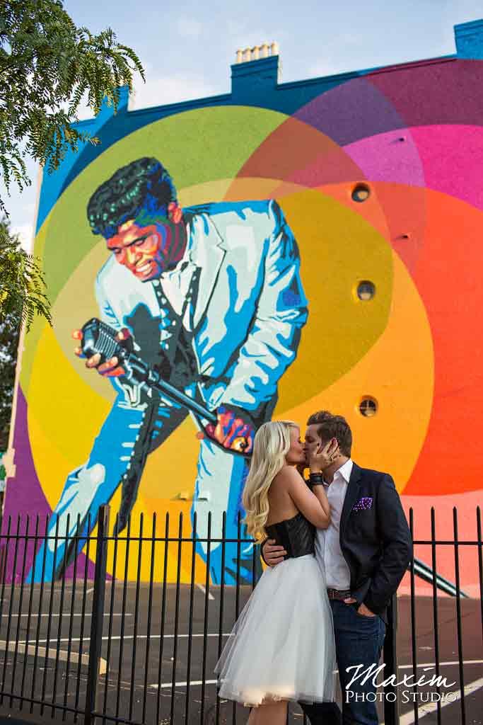 James Brown Cincinnati Mural Engagement