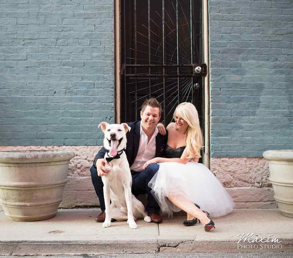 Cincinnati Ohio Over The Rhine Wedding Photographer