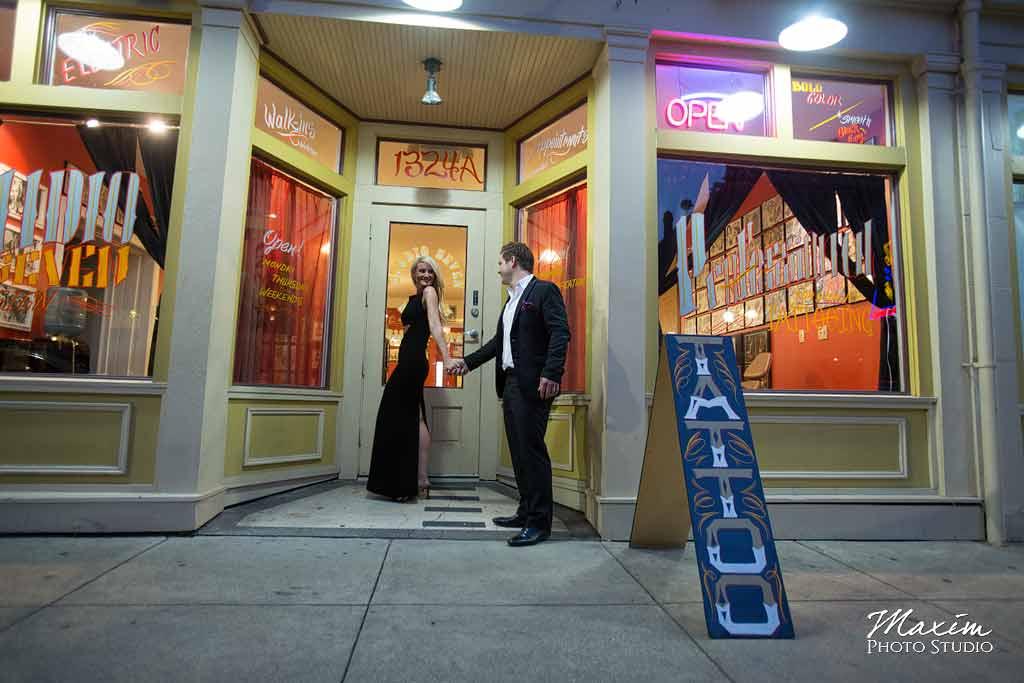 Richmond-Metzner Engagement @ 2015 Maxim Photo Studio