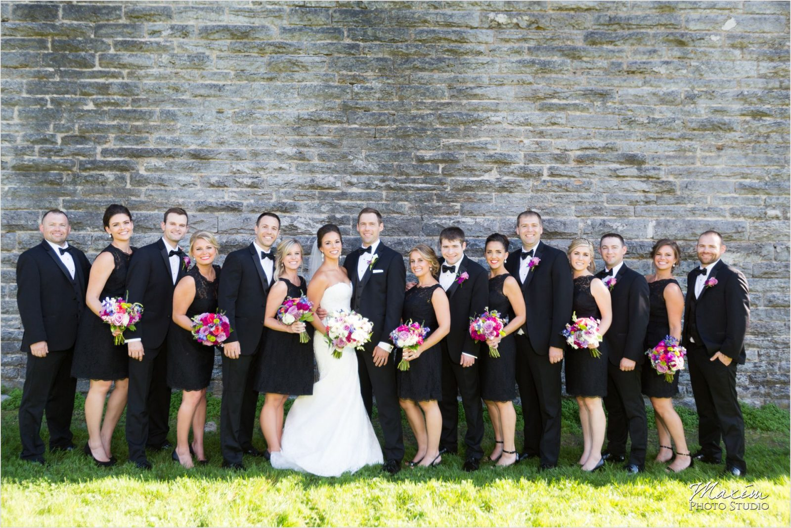 Eden Park Cincinnati Wedding Bridal Party
