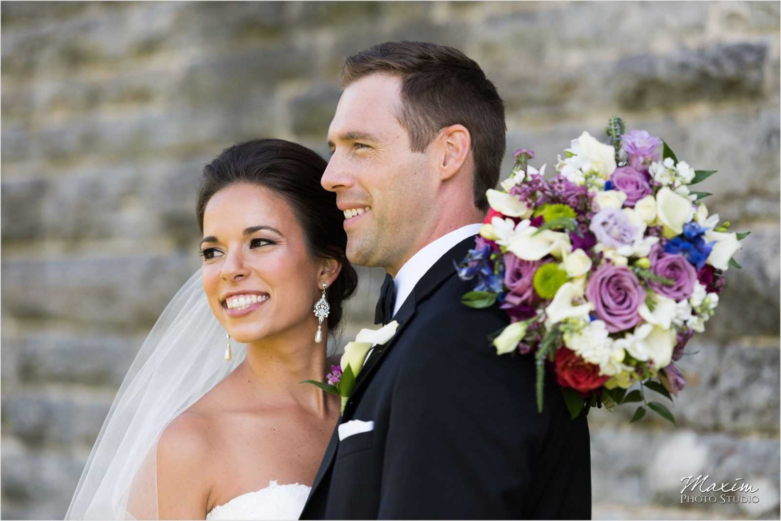 Eden Park Cincinnati Wedding Bride Groom