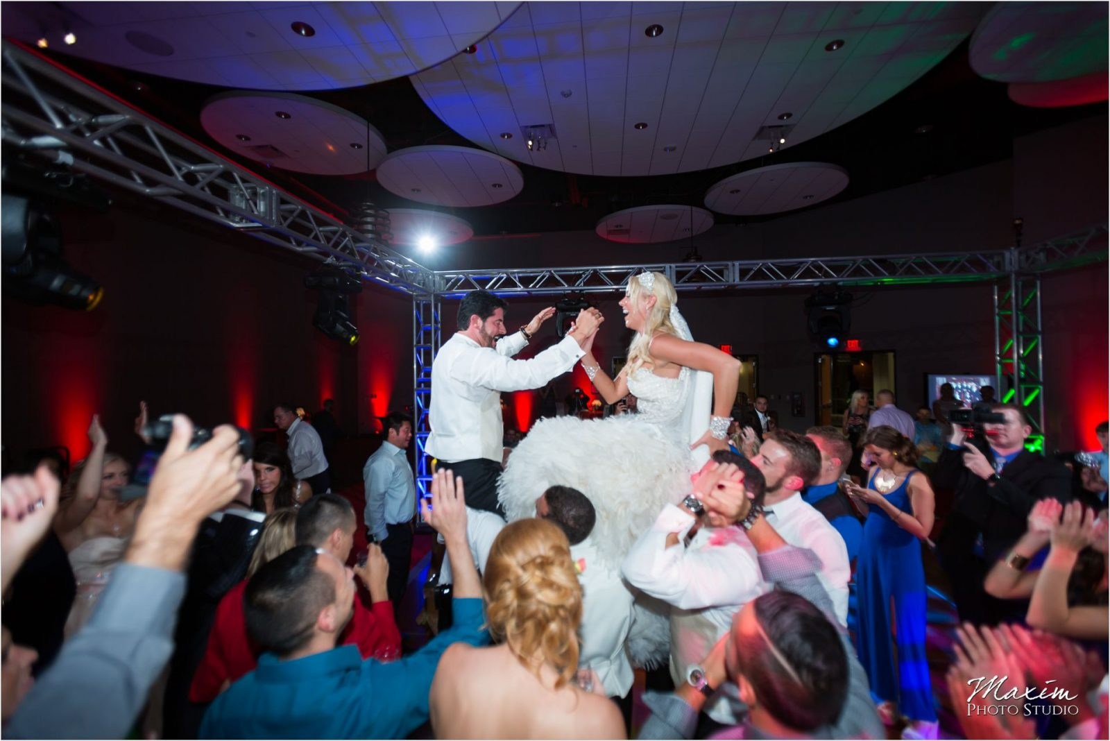 Cincinnati Wedding Photographers Sharonville Convention Center Wedding Reception