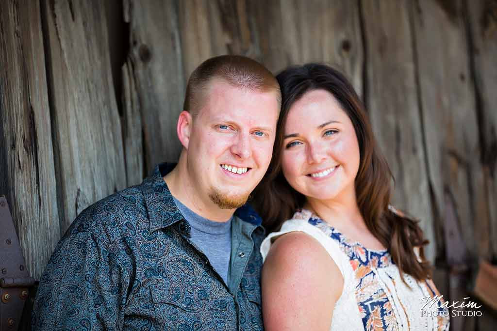Dayton Ohio Barn Engagement Photography