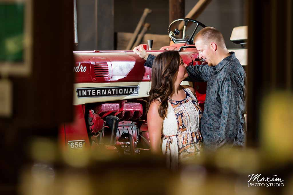 Best Trenton Ohio Engagement Photography