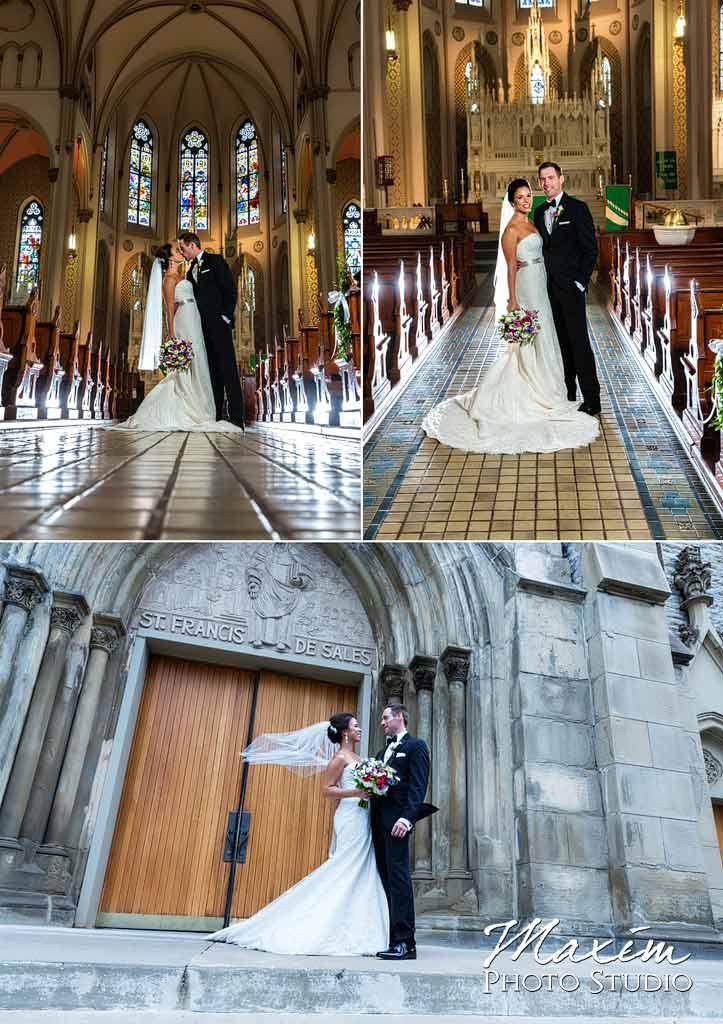 St. Francis DeSales Church Bride Groom