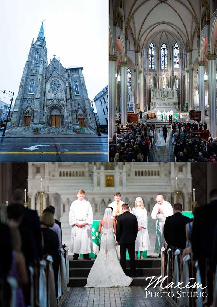 St Francis DeSales Church ceremony