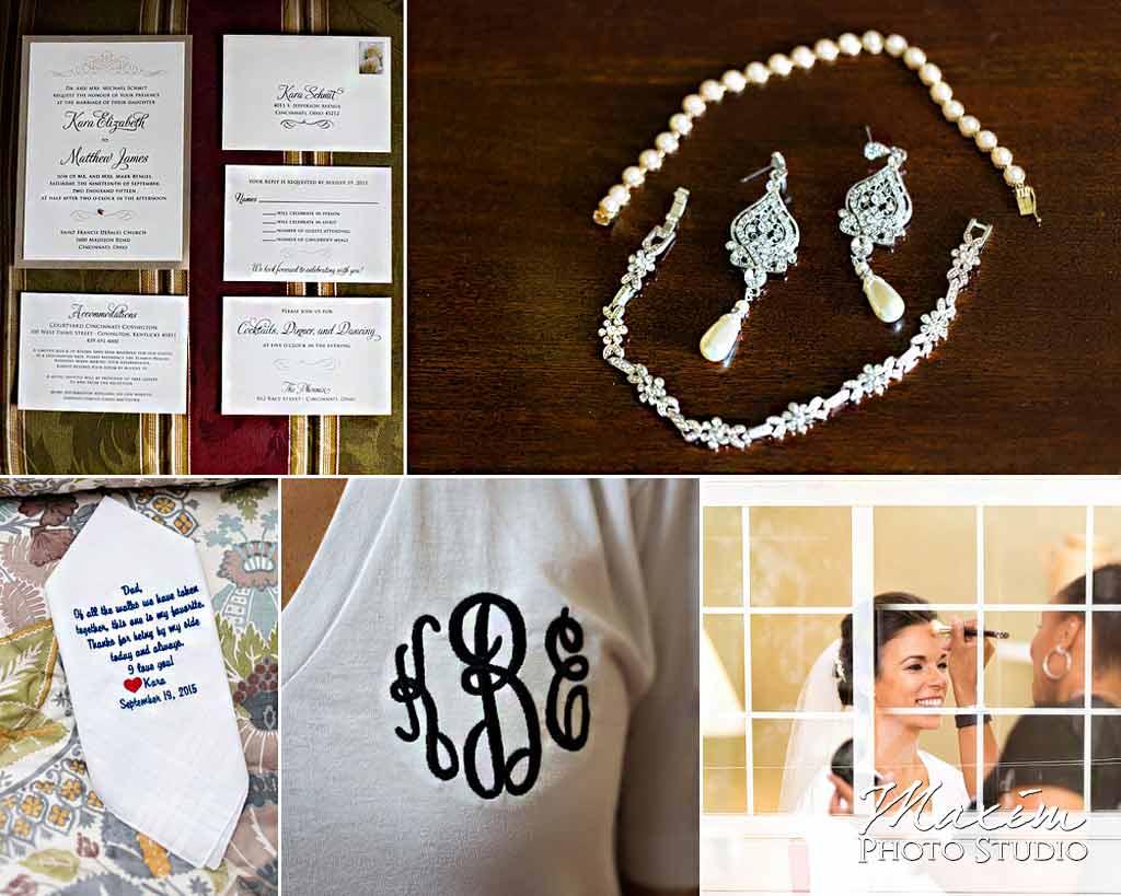 The Phoenix Cincinnati Wedding details