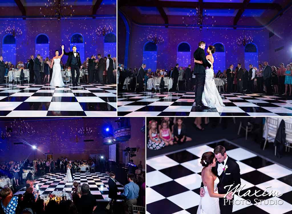 The Phoenix Cincinnati Wedding reception dance
