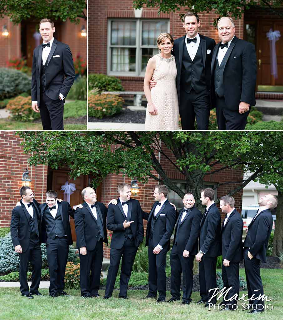 The Phoenix Cincinnati Wedding groom