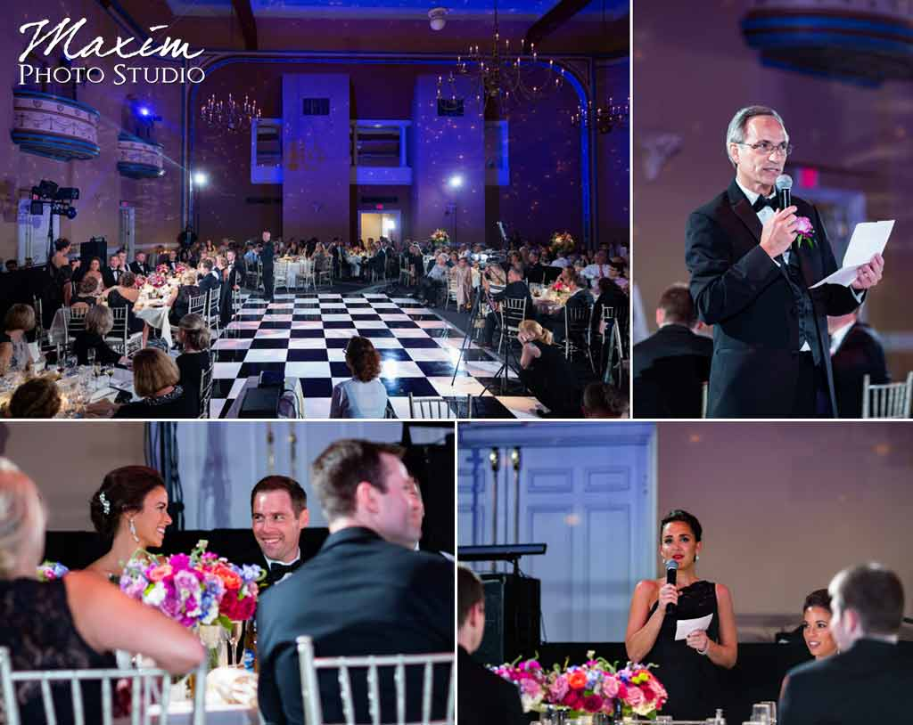 The Phoenix Cincinnati Wedding reception
